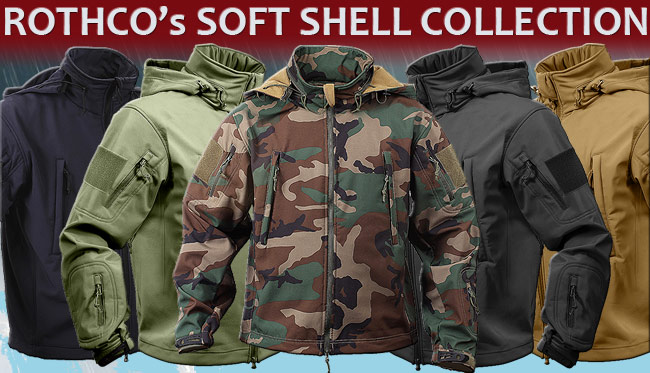 ROTHCO�s SOFT SHELL COLLECTION