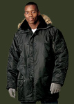 ULTRA FORCE� BLACK N-3B SNORKEL PARKA 9390