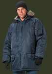 ULTRA FORCE� NAVY BLUE N-3B PARKA 9394